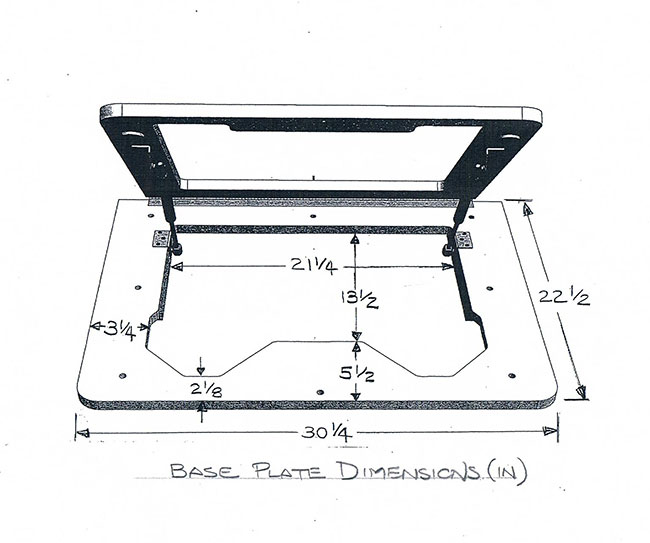 Dowelmax router table lift dimensions.