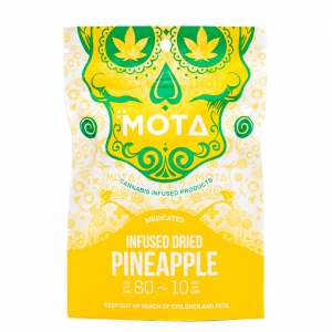 Medicated Dried Pineapple by Mota