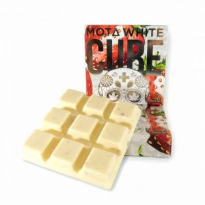 medical cannabis medical marijuana products ta Strawberries and Cream CBD White Chocolate Cube
